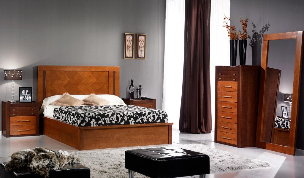 Dormitorio Karen ~ Dormitorio castaños 16 con bancada elevable Muebles Confort Nature